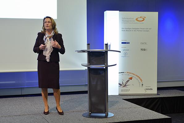 Überraschungen beim digitalen Reifegrad - Vortrag von Andrea Back