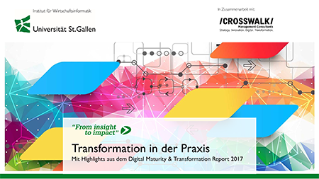 "Highlights aus dem Kurzreport ""Transformation in der Praxis"""