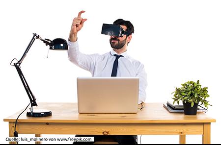 Das Virtuelle Buro Arbeiten Wir Bald Alle In Der Virtuellen Welt