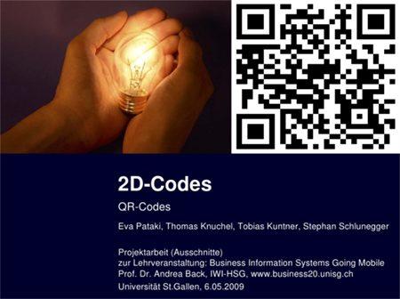 qr codes bald im h henflug newsblog lehrstuhl prof dr. Black Bedroom Furniture Sets. Home Design Ideas