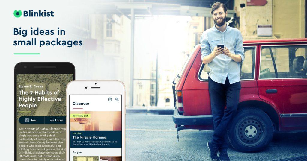 Mobile Learning mit Blinkist: Lesen im Schnelldurchlauf
