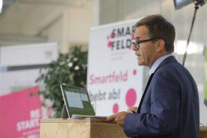 Eröffnung Smartfeld