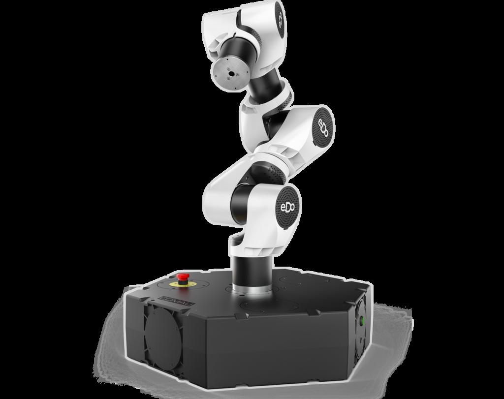 Darf ich vorstellen? e.DO der erste nach ISO zertifizierte Lernroboter