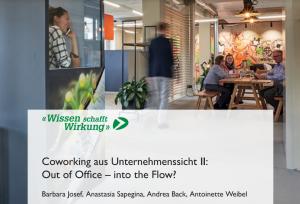 Co-Working aus Unternehmenssicht II: Unsere neue Studie