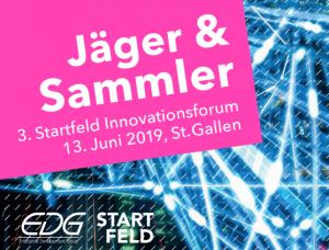 """3. Startfeld Innovationsforum zum Thema """"Jäger & Sammler: Mehrwert durch Datennutzung"""""""