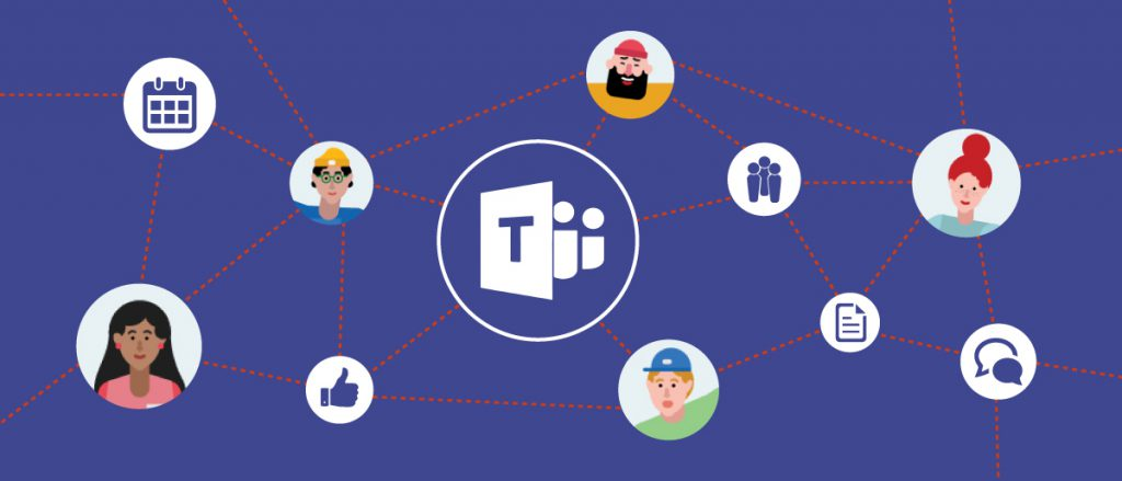 «Microsoft Teams»: eine Vereinigung von bisher separaten Teamarbeitstools