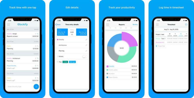 Clockify – ein Zeiterfassungssystem für projektübergreifende Teams