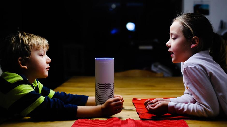 Schulkinder vertrauen Alexa nicht