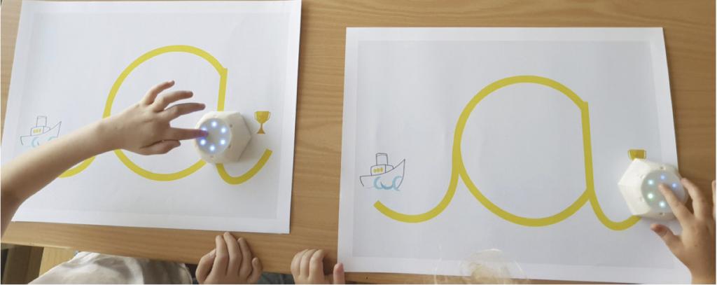 Cellulo: mit einem Roboter Schreiben lernen