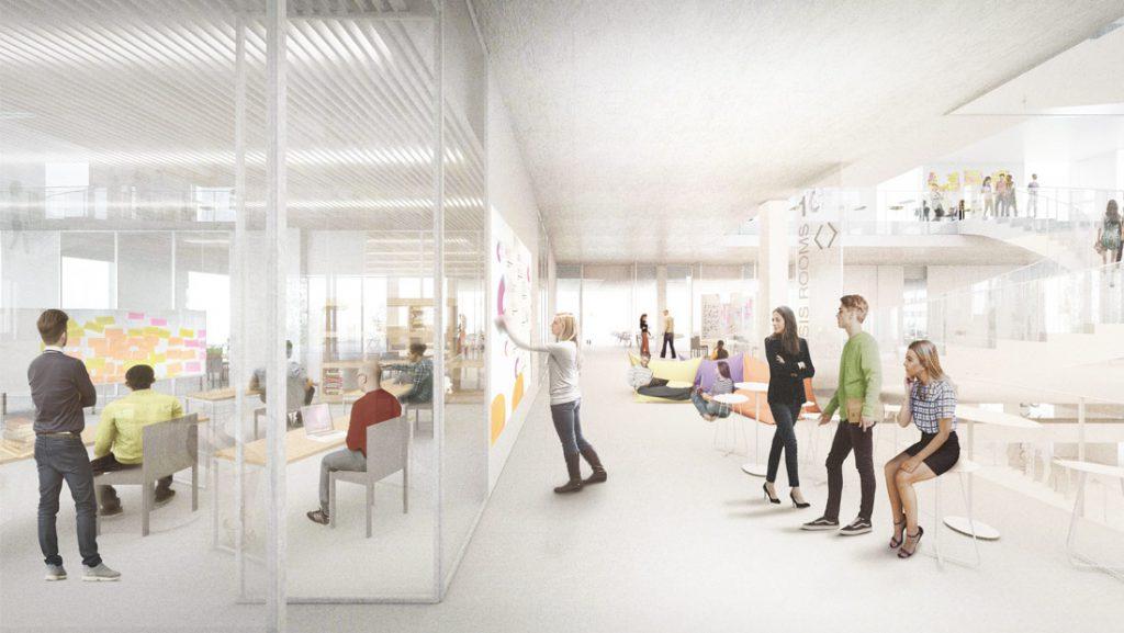 "Teil 2/5 [Lernkultur]: Raum für neue Lernkultur an der Uni St.Gallen – die 4 P's. Fokus ""Projects"""