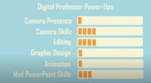 Dozenten-Ichs und Klebeband für Lehre-Videos