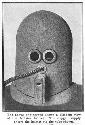 Bereits 1925 erfunden – Multifunktionsmaske fürs Büro